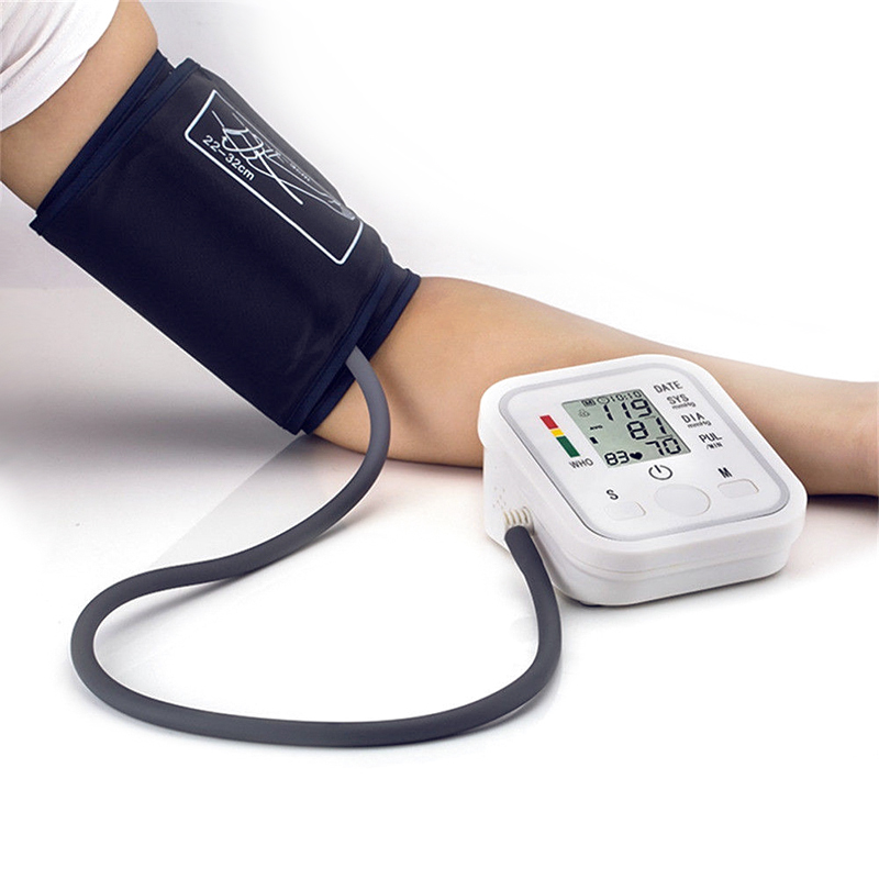Wholesale Portable Electronic Wireless Blood Pressure Monitor (40 - 160 Bpm, 2 Inch LCD, Data Storage)