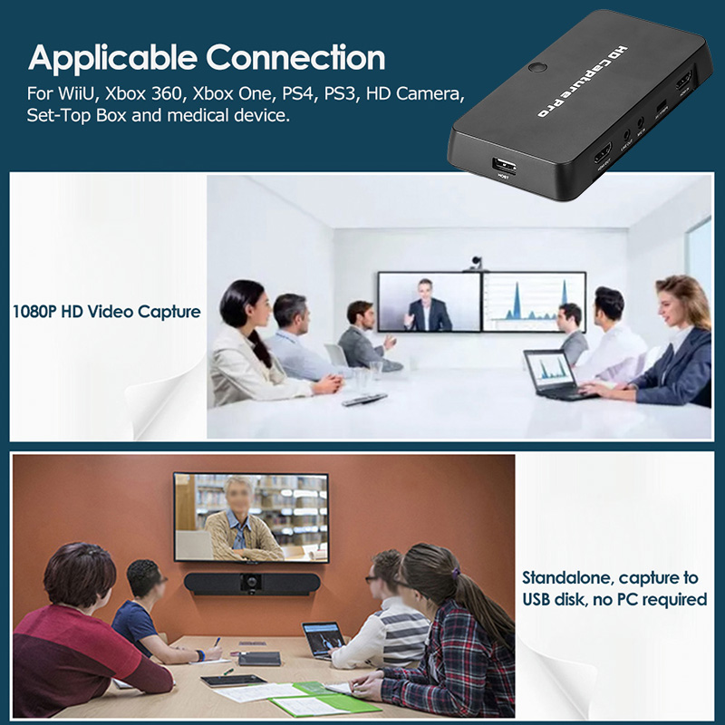 Ezcap 295 Full HD 1080p USB Video Recorder (Analog + Digital In, Voice and Audio Recording)