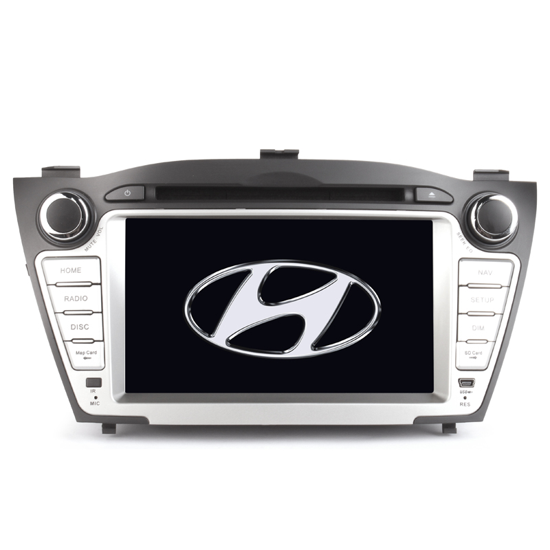 Wholesale 7 Inch HD Car DVD Player for Hyundai IX35 2010 (Bluetooth, GPS Navigator, FM/AM Radio, 16GB)