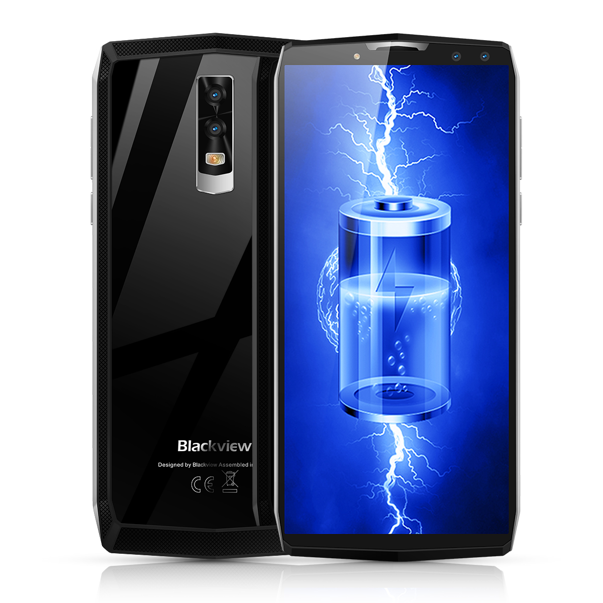 Wholesale Blackview P10000 Pro 5.99 Inch Octa-Core Phone (11000mAh, Dual Rear + Dual Front Camera, 4GB RAM, 64GB, Sliver)