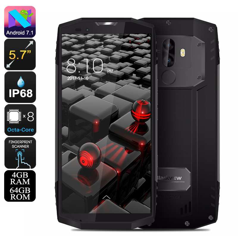 Wholesale Blackview BV9000 5.7 Inch Rugged Phone (Waterproof, 4GB RAM, 4G