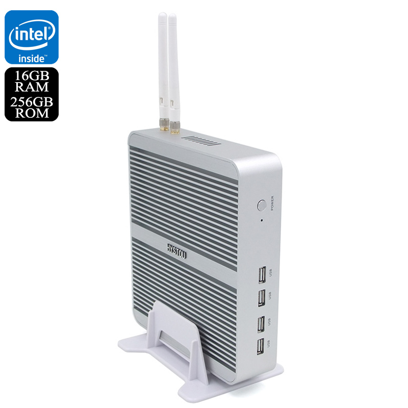 Wholesale Hystou FMP03b Barebones Windows 10 Mini PC (WiFi, i3-7100U CPU, 16GB RAM, 256GB)