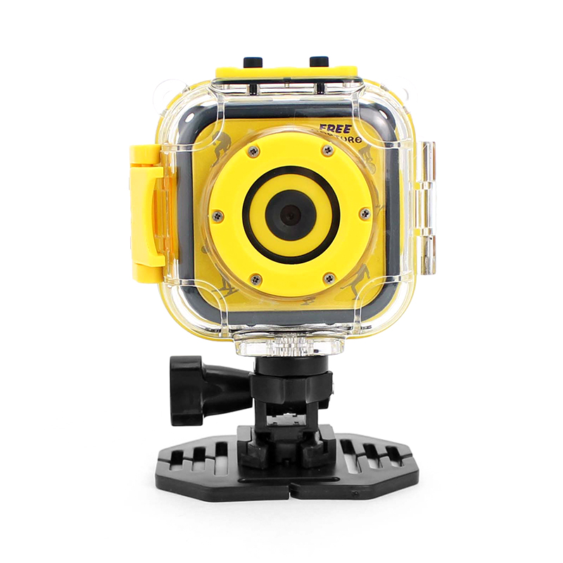Wholesale K1 Action Camera for Kids (720p Video + 5MP Pictures, 80-Degree Lens, 1.77-Inch LCD, 500mAh)