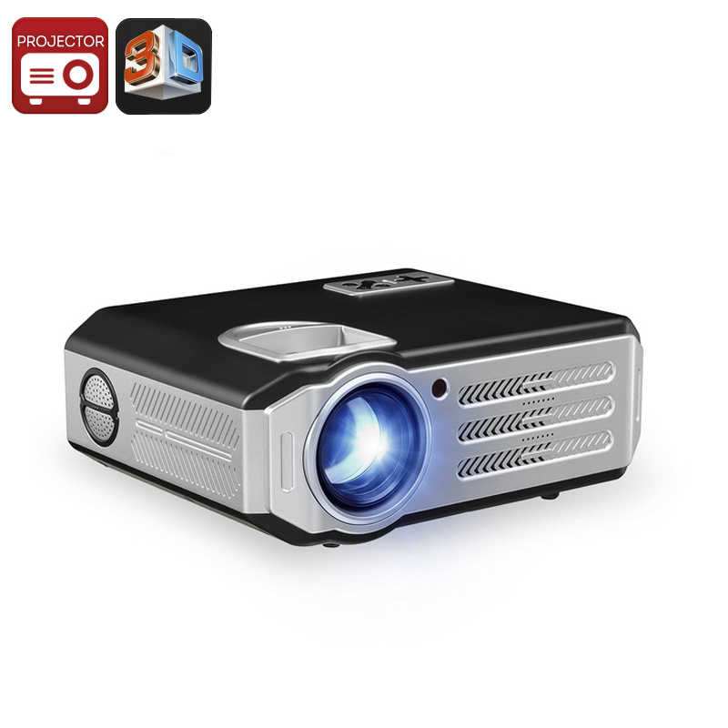 Wholesale WiFi HD Android Projector (280 Inch, Quad Core ARM CPU, 300 LM, 5.8 Inch TFT LCD LED Lamp)
