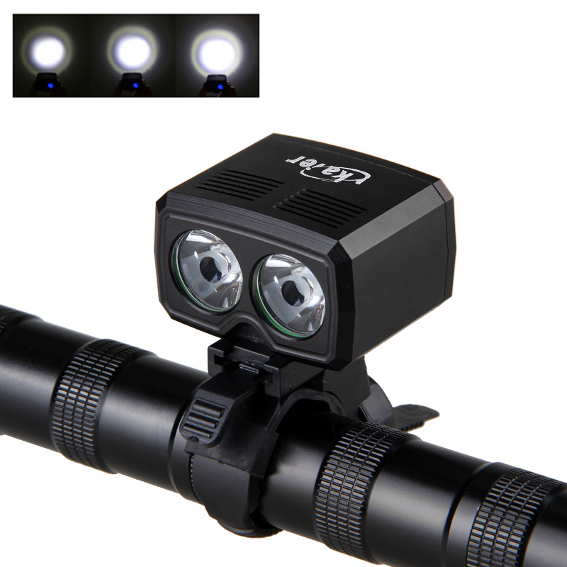 Wholesale IP65 Waterproof Durable LED Bike Light (800 Lumen, 2 White LED,