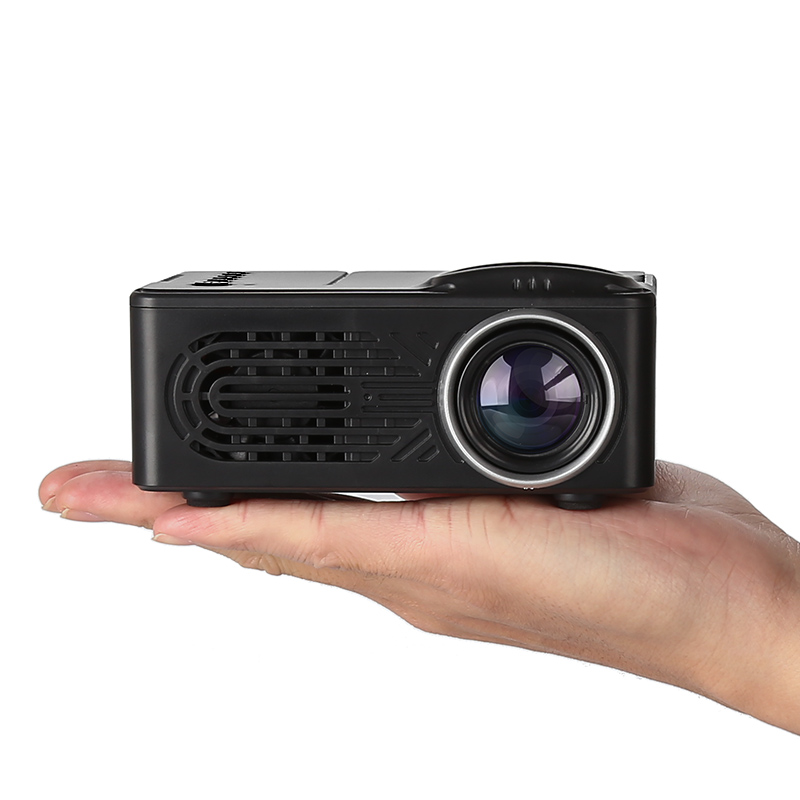 Wholesale Kids Mini LED Projector with Built-In Speaker (30 Lumen, 3.5mm Audio Jack, 1000mAh)