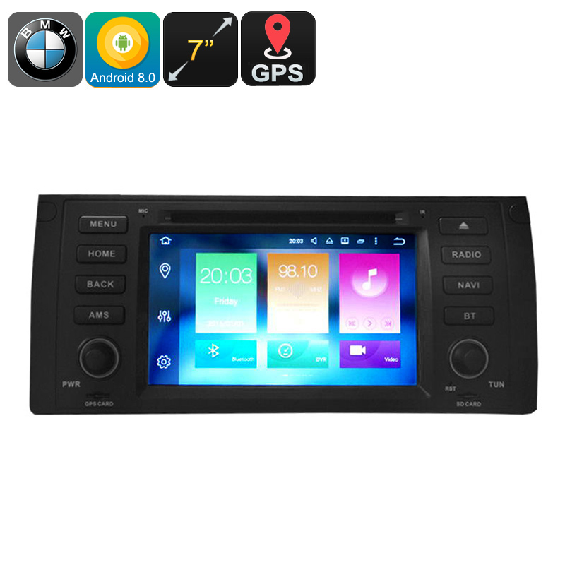 "Wholesale 7"" One DIN Android 8.0 Car DVD Player for BMW 5 (GPS, CAN BUS, Google Play, Octa-Core, 3G/4G, 4GB RAM, 32GB)"