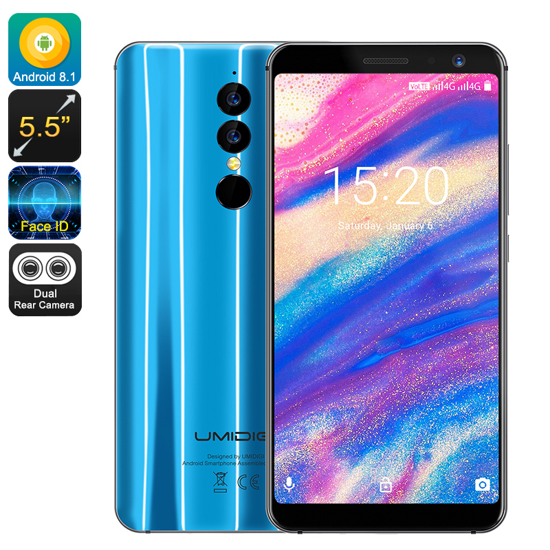Wholesale UMIDIGI A1 Pro 5.5 Inch 4G Face Unlock Smartphone (Android 8.1,