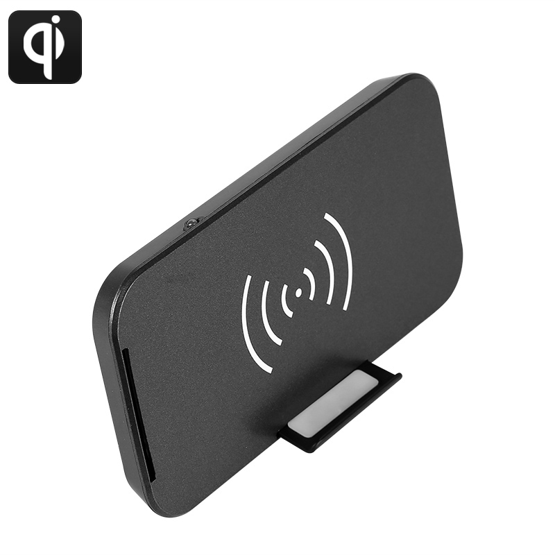 Wholesale 9V 2A USB Qi Wireless Charger with 70% Charging Efficiency
