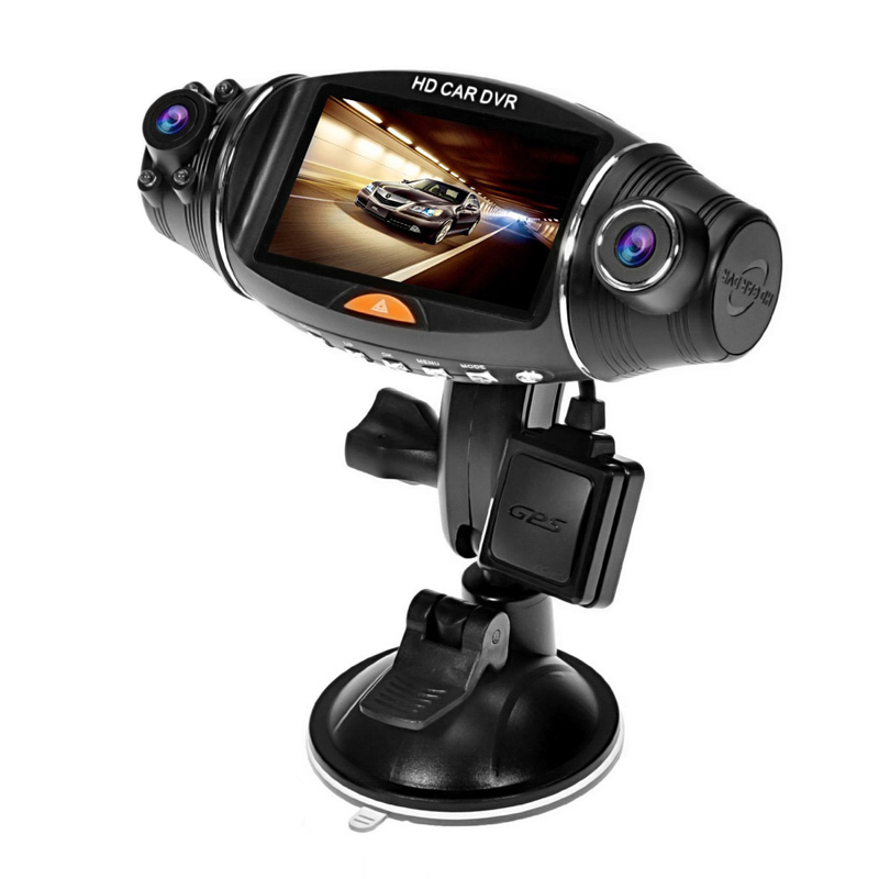 Wholesale R310 2.7 Inch Dual Lens HD Car DVR (Wide Angle Lens, Loop Recording, Ignition Start)