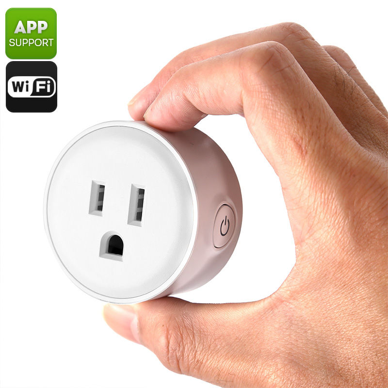 Wholesale USA Type-B Smart WiFi Plug with iOS/Android Mobile Control
