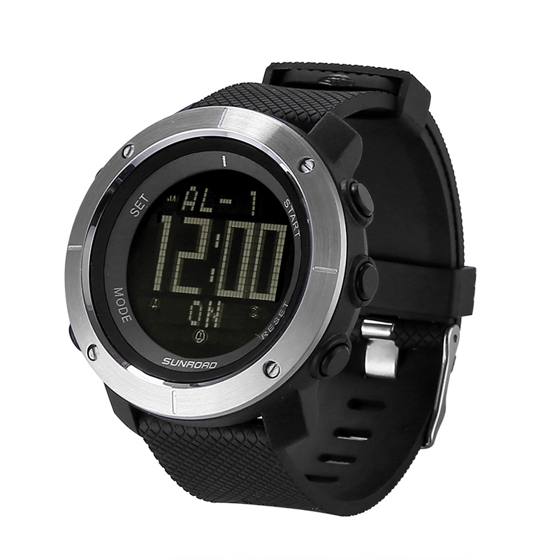 Wholesale Sunroad FR1001 3ATM Waterproof Outdoor Watch with World Time, Countdown, Stopwatch, Backlit, Alarm Clock