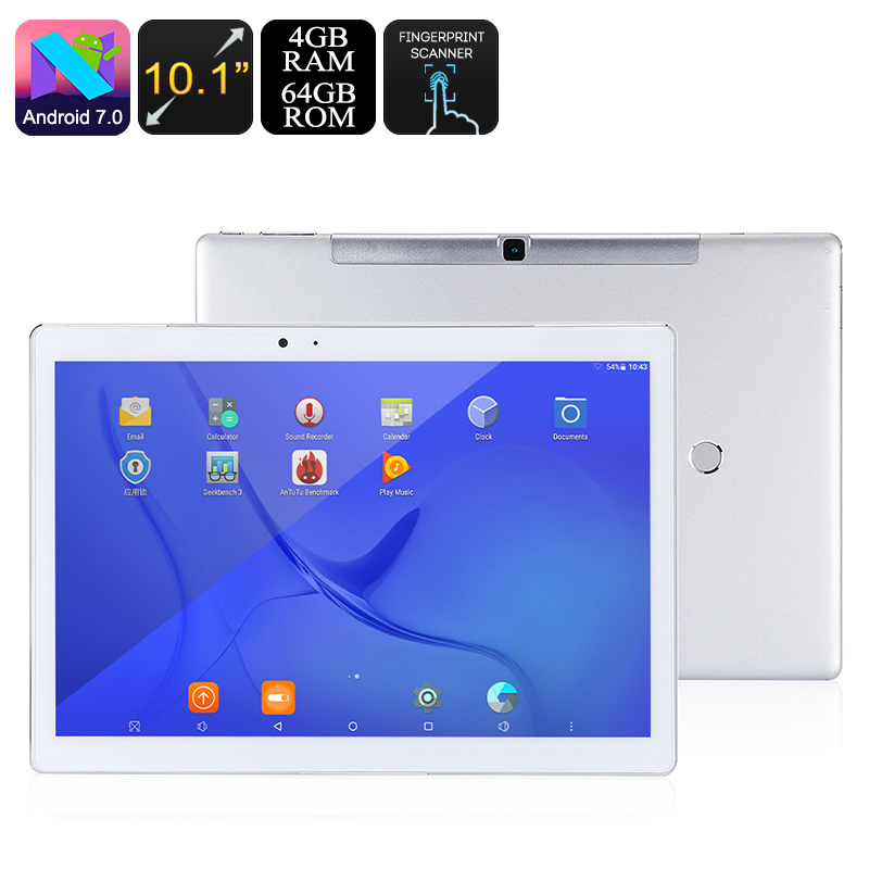 Wholesale Teclast Master T10 10.1 Inch Hexa-Core Tablet PC (Android 7.0, Fingerprint, 2560x1600, 4GB RAM, 64GB)