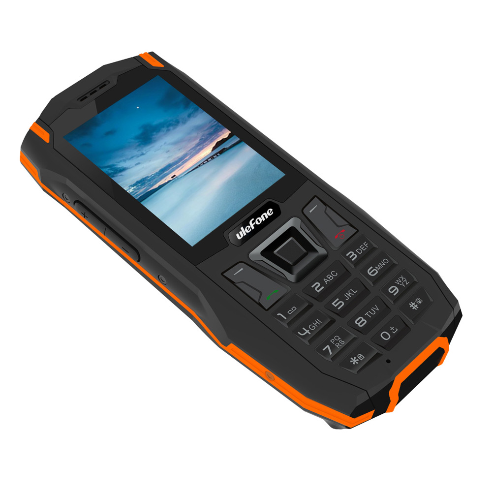 Wholesale Ulefone Armor Mini Phone (IP68 Waterproof, FM Radio, Flashlight, 2.4 Inch, Orange)
