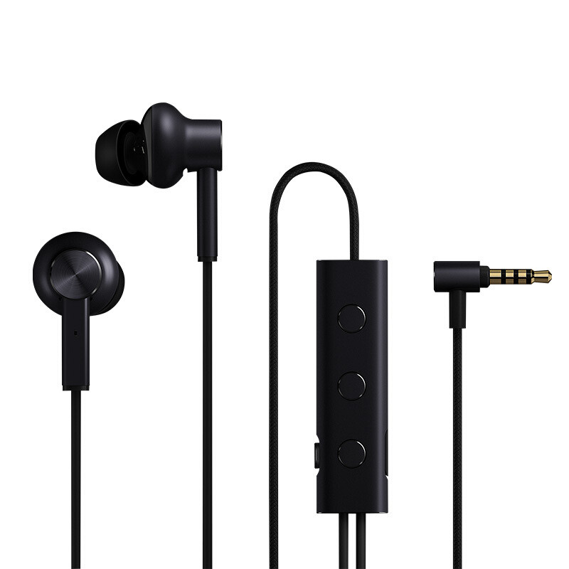 Wholesale Xiaomi 3.5mm Wired Earphones with Microphone (Noise Cancellation, Anti-slip Earbuds)