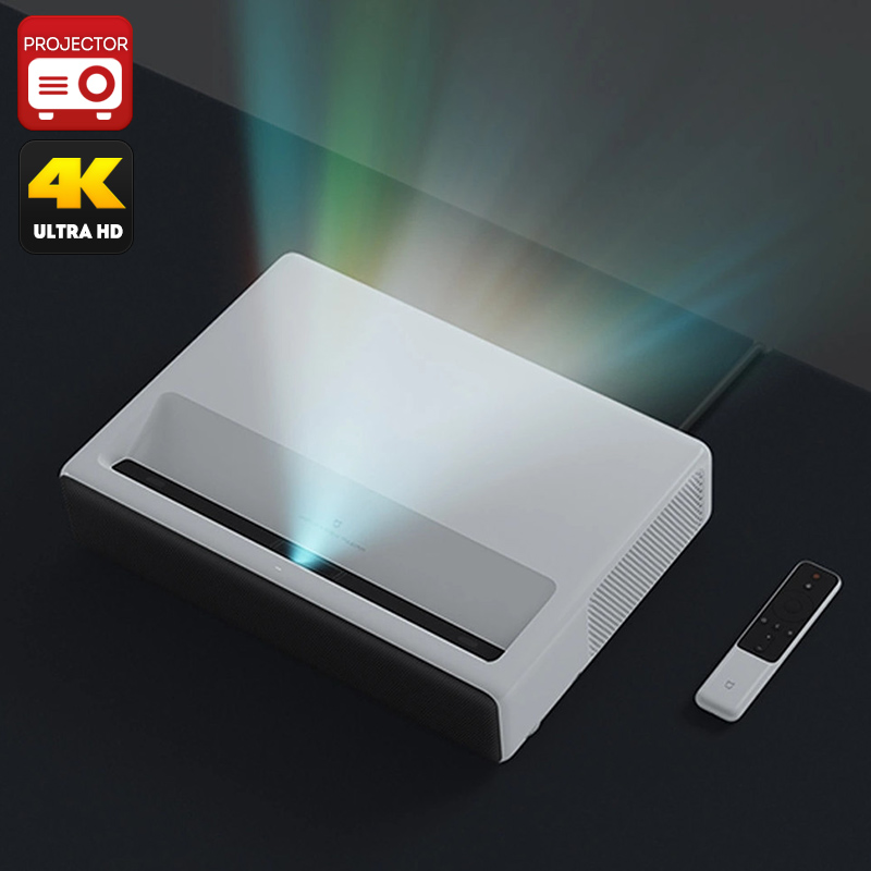 Wholesale Xiaomi Mi 4K Laser Projector (MIUI TV, Quad-Core CPU, ALPD 3.0,