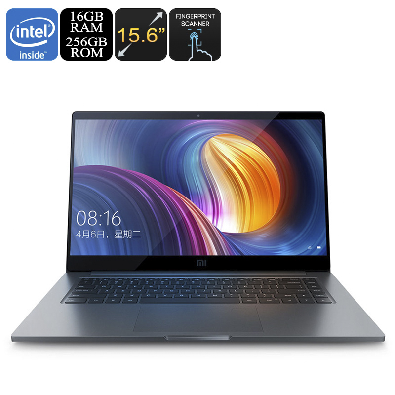 Wholesale Xiaomi Mi Notebook Pro (Intel Core i7 CPU, 16GB DDR4 RAM, 256GB Storage, GeForce GPU, 15.6 Inch Screen, Fingerprint Scanner)