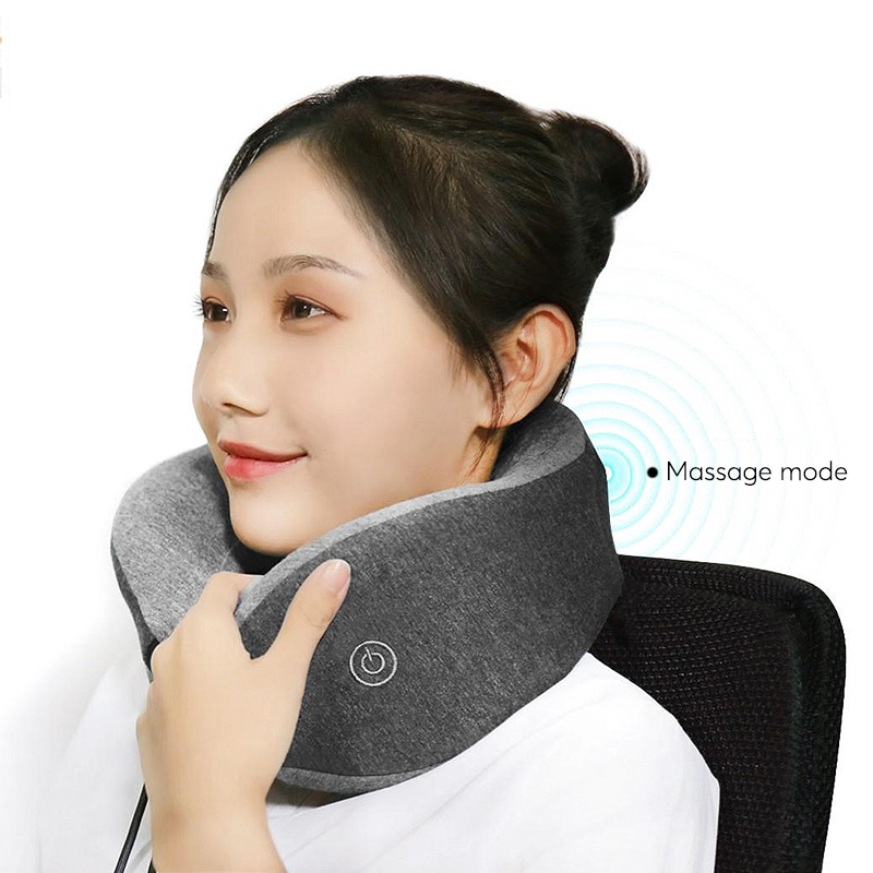 Wholesale Xiaomi U-Shaped Neck Pillow (Massage, Lightweight, 95% Cotton, Q