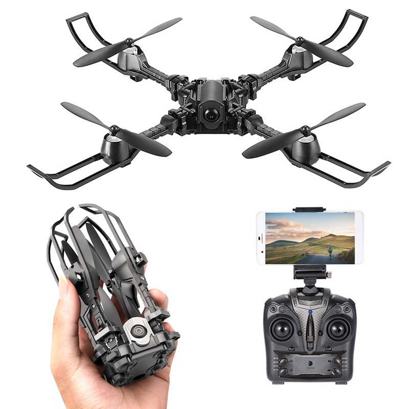 Wholesale iDrone i5 Foldable 6 Axis Gyro Camera Drone with Camera (Altitud
