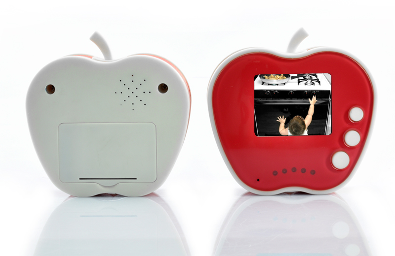 Apple Shaped 2.4GHz Wireless Digital Baby Monitor + Camera (10 LEDs, Night Vision)