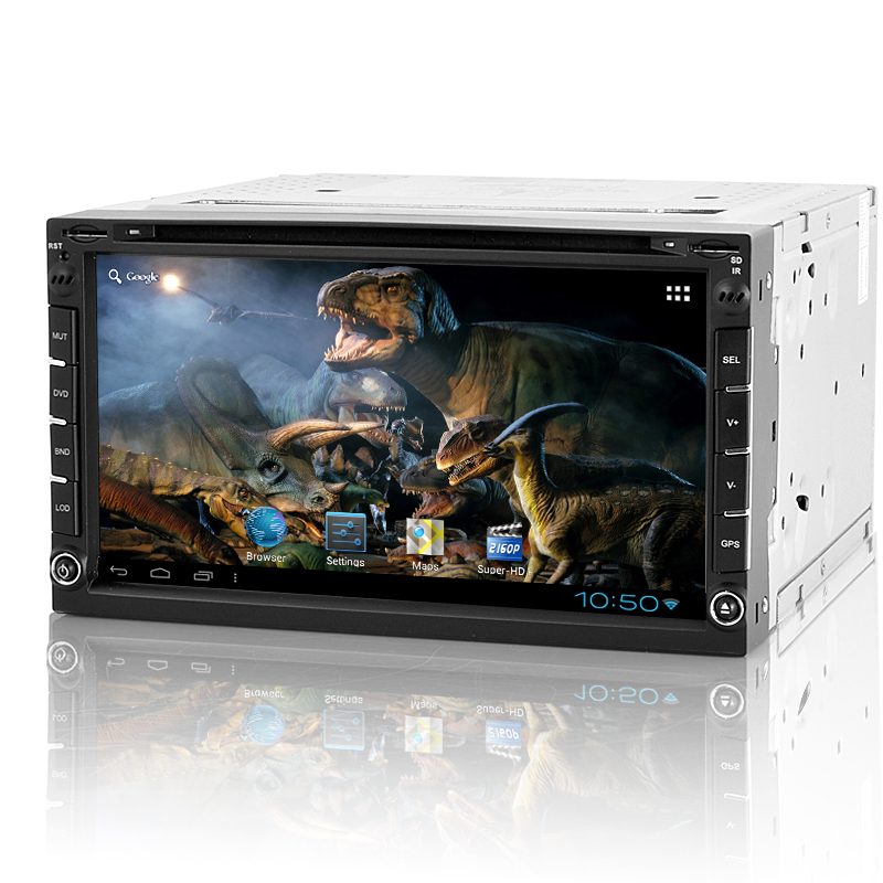 Wholesale Roadasaurus - 2 DIN Android Car DVD Player with 7 Inch Touch Screen (GPS, WiFi, Analog TV)
