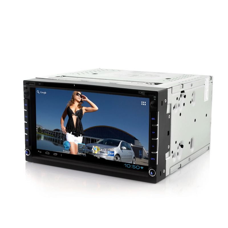 Wholesale Roadoraptor - 2 DIN Android Car DVD Player (7 Inch Touch Screen, GPS, WiFi, DVB-T)