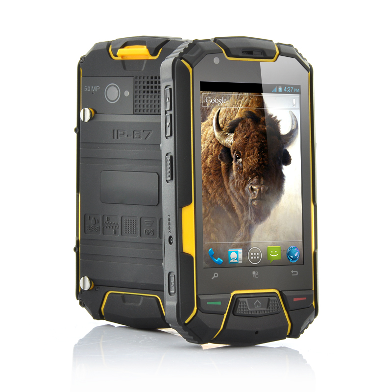 Wholesale Bison - 3.5 Inch Ruggedized Android Phone (1GHz Dual Core CPU, 960x640, Waterproof, Shockproof, Dustproof)