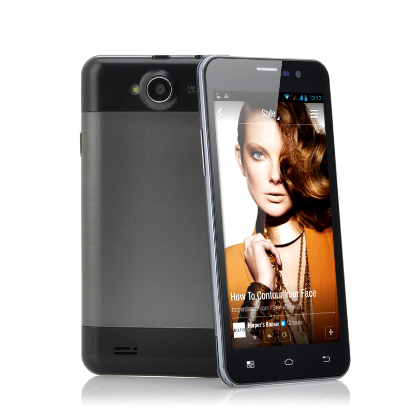 Wholesale Osebo - 5 Inch Quad Core Phone (Android 4.2, 1GB RAM, 8MP Camera, Black)