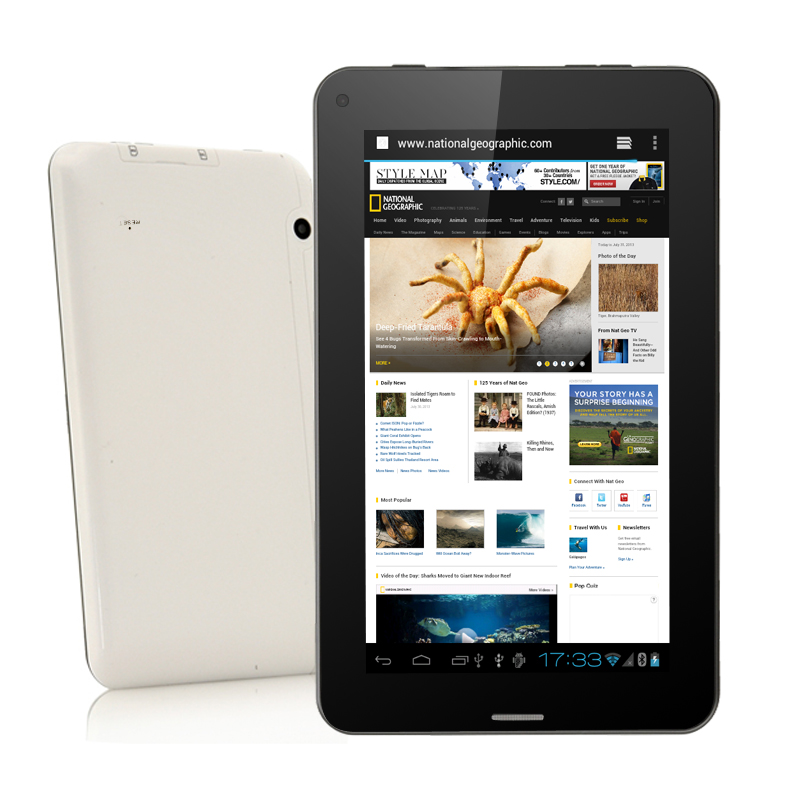 Wholesale Viper - 7 Inch Android Tablet PC + Phone (1.5GHz CPU, Dual Camera, Bluetooth, 4GB)