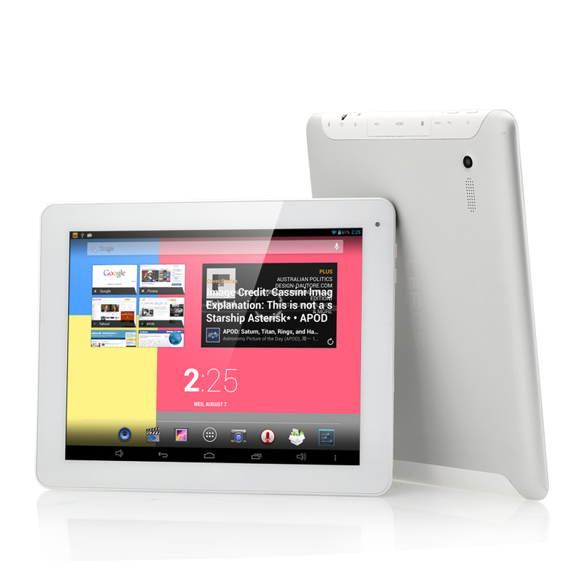 Wholesale Ceros Revolution - 9.7 Inch Quad Core Android 4.2 Tablet (2048x1536 IPS Retina Screen, 1.6GHz CPU, 2GB RAM, 8000mAh, White)