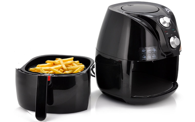 Healthy Air Fryer with 800g Capacity - No Oil Needed
