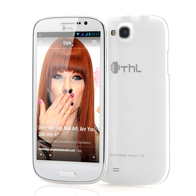 Wholesale ThL W8 Lite - 5 Inch Android 4.2 Phone (1.2 GHZ Quad Core, 320 PPI, 12MP Camera, White)