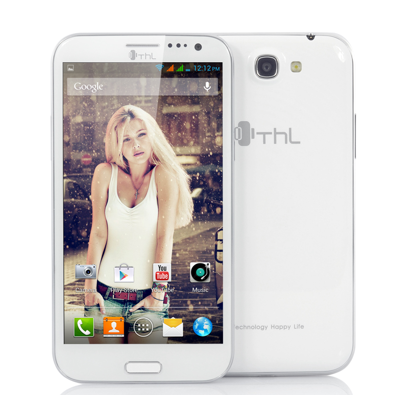 Wholesale ThL W9 - 1.5GHz Quad Core Android 4.2 Phone (5.7 Inch, 1080p Full HD, 12.6MP Back Camera, 8MP Front Camera, White)