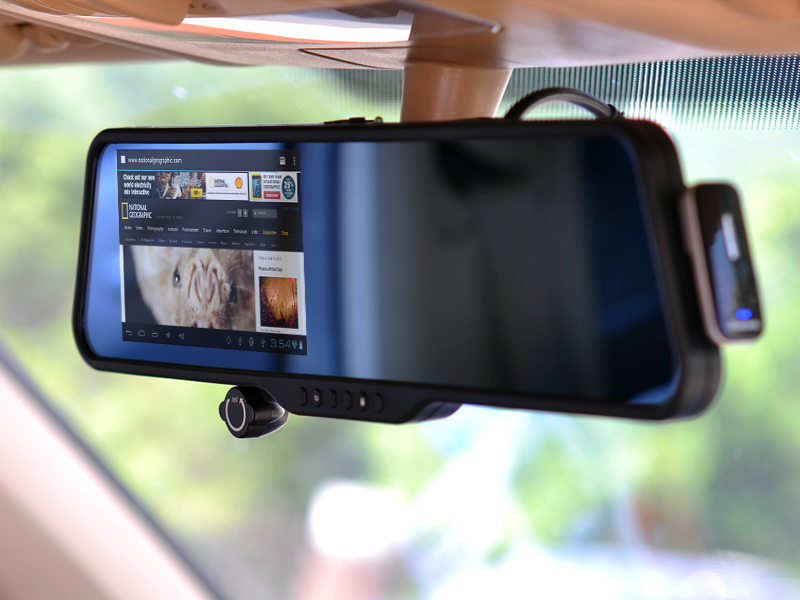 Shift Android Rear View Mirror With Dash Cam Dvr 5