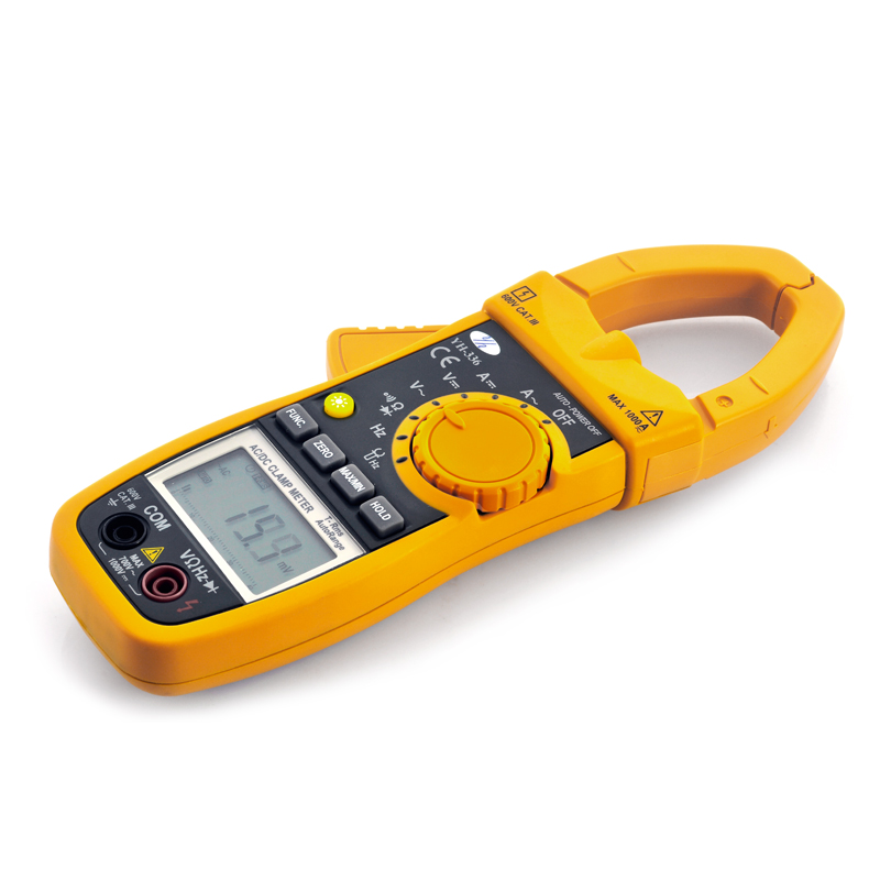 Wholesale DC/AC Clamp Meter Multimeter (True RMS, Continuity + Diode Test,