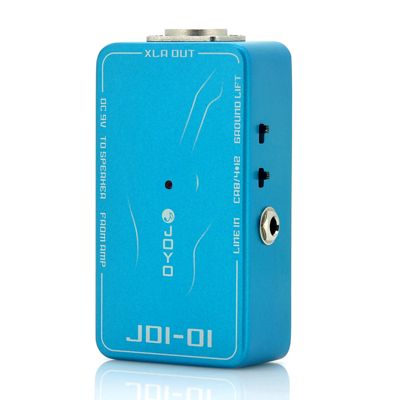 Wholesale Direct Input Effect Pedal for Joyo JDI-01 - Electric Guitar and Bass (4x 12 Amps Simulation, XLR OUT)
