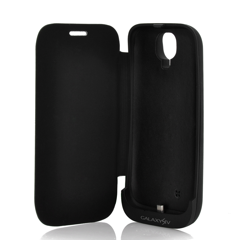 Wholesale 3000mAh External Battery Case with Flip Cover for Samsung Galaxy S4 i9500