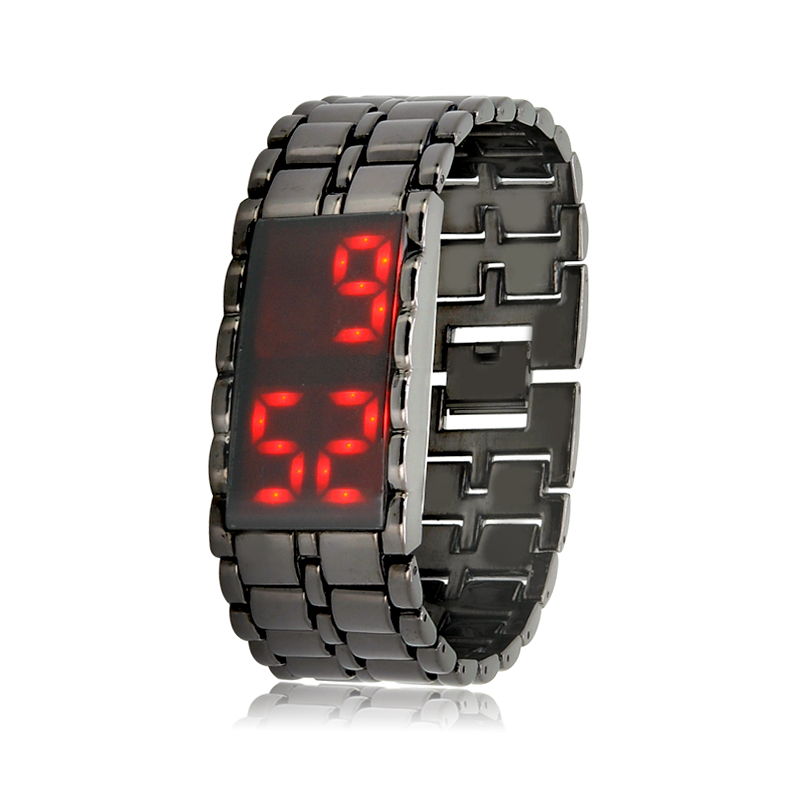 Wholesale Shinobi - Red LED Watch (Touch Activated, 28 LEDs)