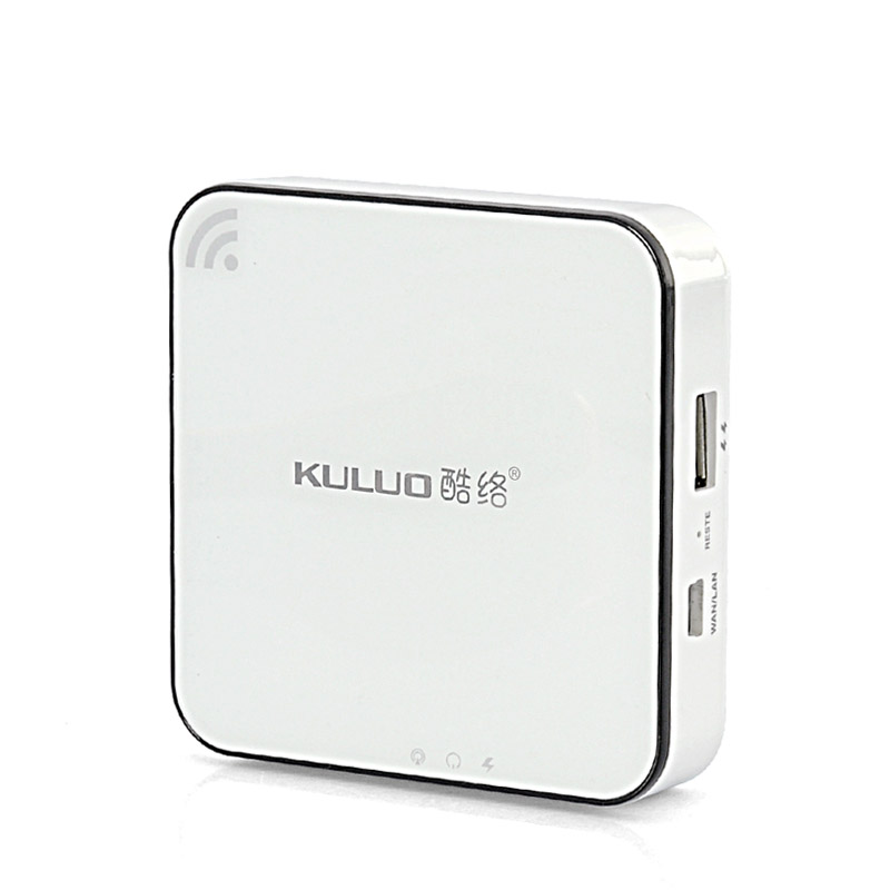 Wholesale Multi-Function WiFi Router with 3000mAh Power Bank and 8GB Cloud Storage