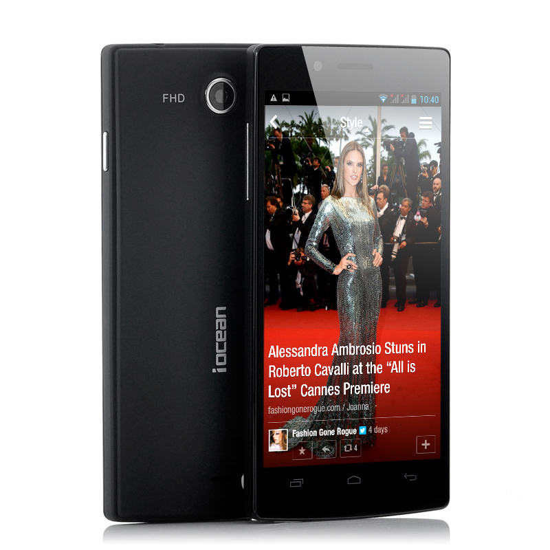 Wholesale iOcean X7 - 5 Inch Android 4.2 Quad Core Phone (441PPI, 1920x1080p, 1.2GHz, 8MP Camera, 4GB)