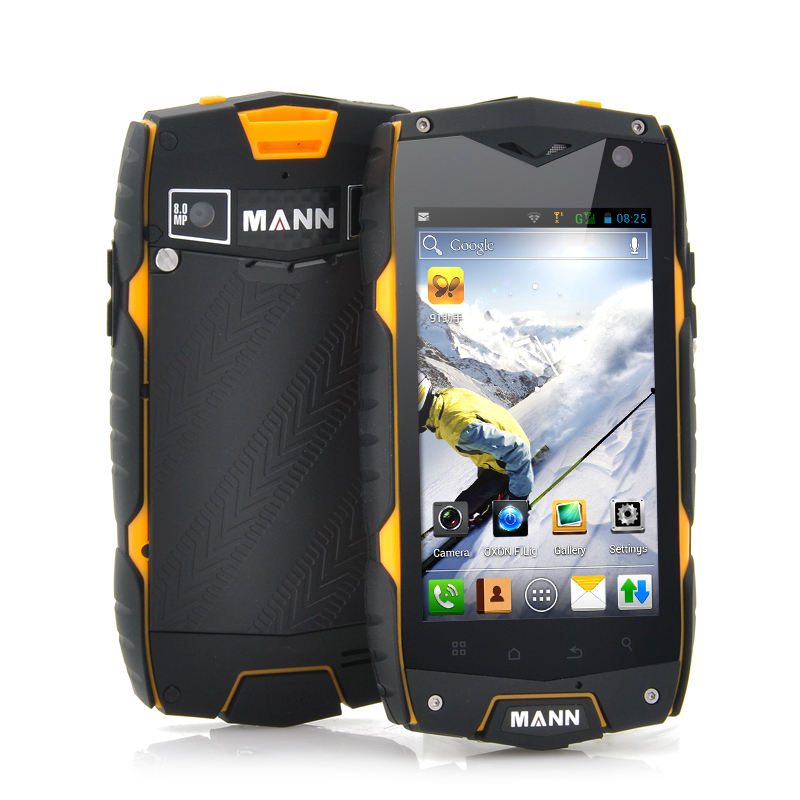 Wholesale Mann A18 - 4 Inch Rugged Android Phone (Snapdragon 1.15GHz Dual Core CPU, IP68 Waterproof, Shockproof, Dustproof)