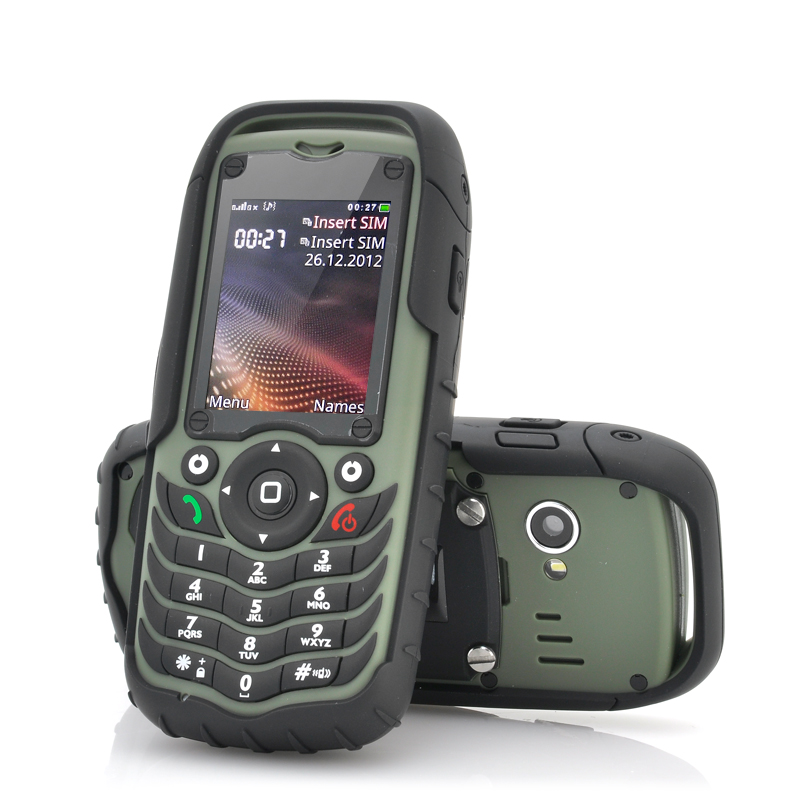 Fortis Dual Sim Rugged Cell Phone Ip67 Waterproof