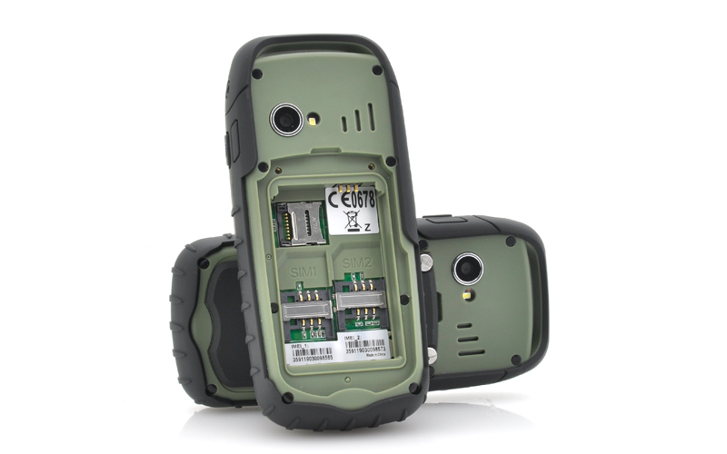 Fortis dual sim rugged cell phone ip67 waterproof for Rugged cell phones