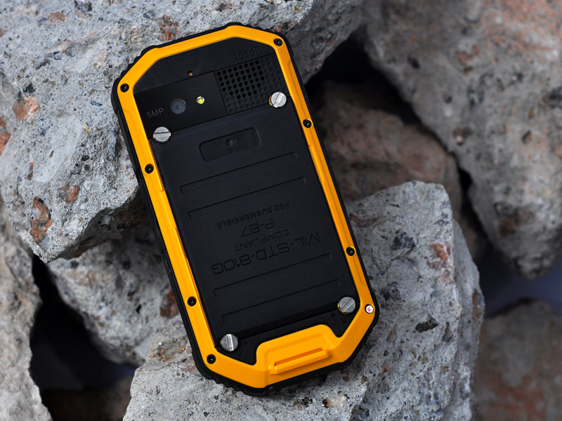 Rhino Mini Military Standard Rugged Android Phone Mil