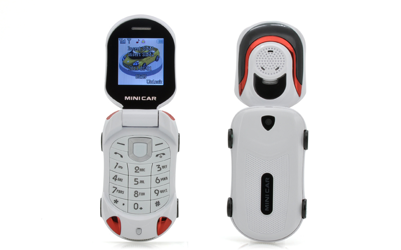 71612256380 Mini Car - Small Sports Car Shaped Mobile Phone For Children (Dual ...