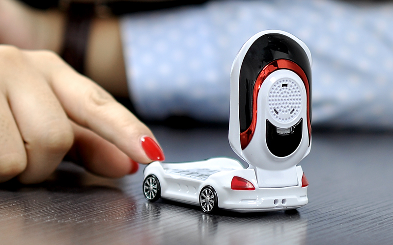 Mini Car - Small Sports Car Shaped Mobile Phone For Children (Dual ...