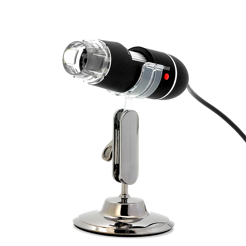 Wholesale USB Digital Microscope (400x Zoom, 1600x1200, 8 Super Bright LEDs)
