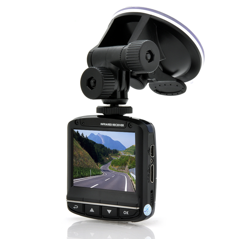 Wholesale 1080p Full HD Car Dashcam with 2.4 Inch Screen (Wide Angle Lens, Motion Detection)