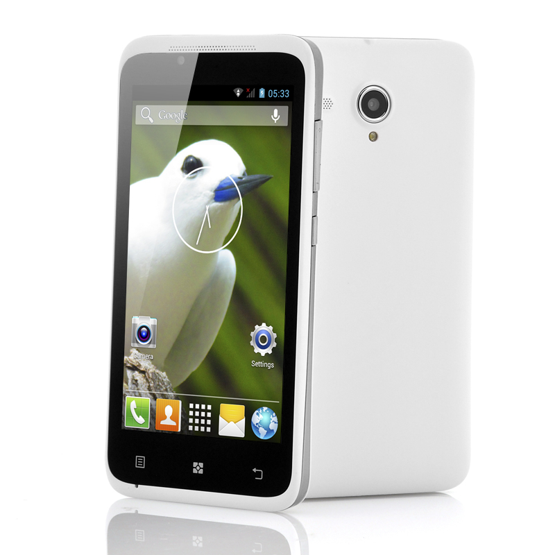 Wholesale Alba - Budget 4.5 Inch Android Phone (1.3GHz Dual Core CPU, GPS, White)