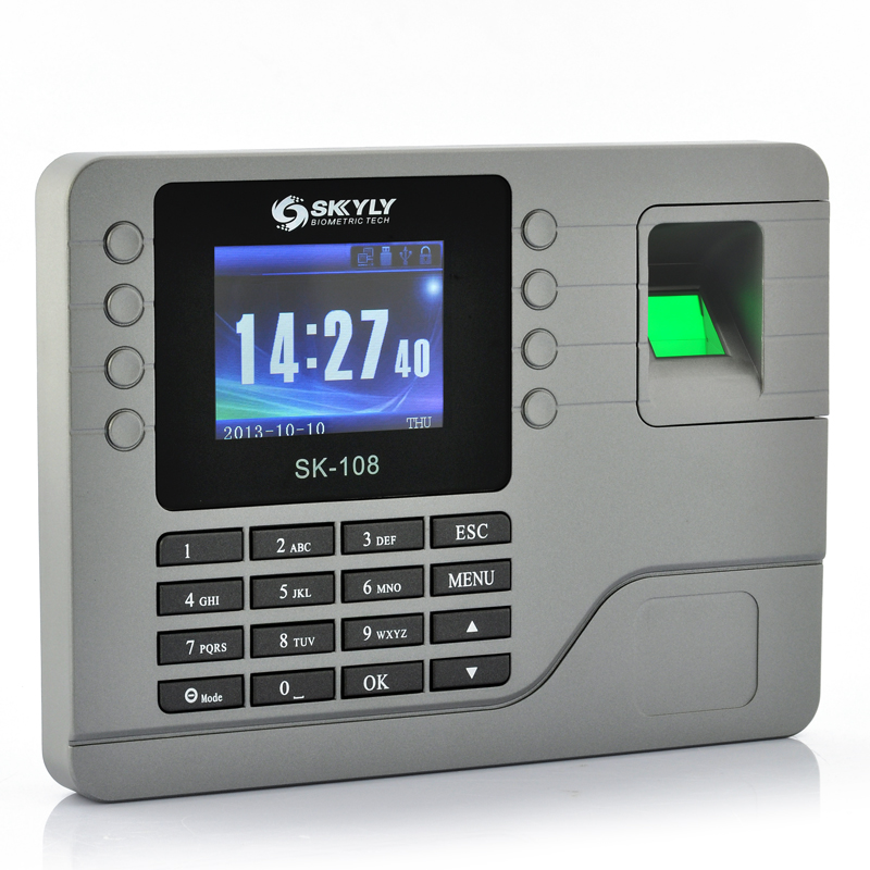 Wholesale Fingerprint Time Attendance System (2.8 Inch Color Screen, 80000 Record & 1000 Fingerprint Capacity)